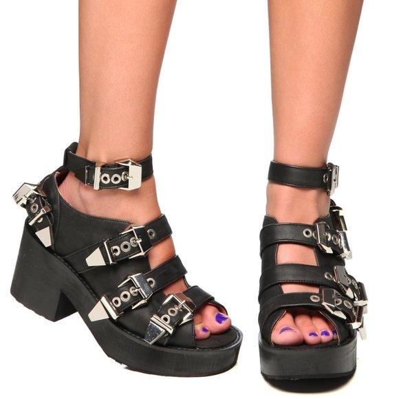 Jeffrey Campbell Nextrane Platform Sandals